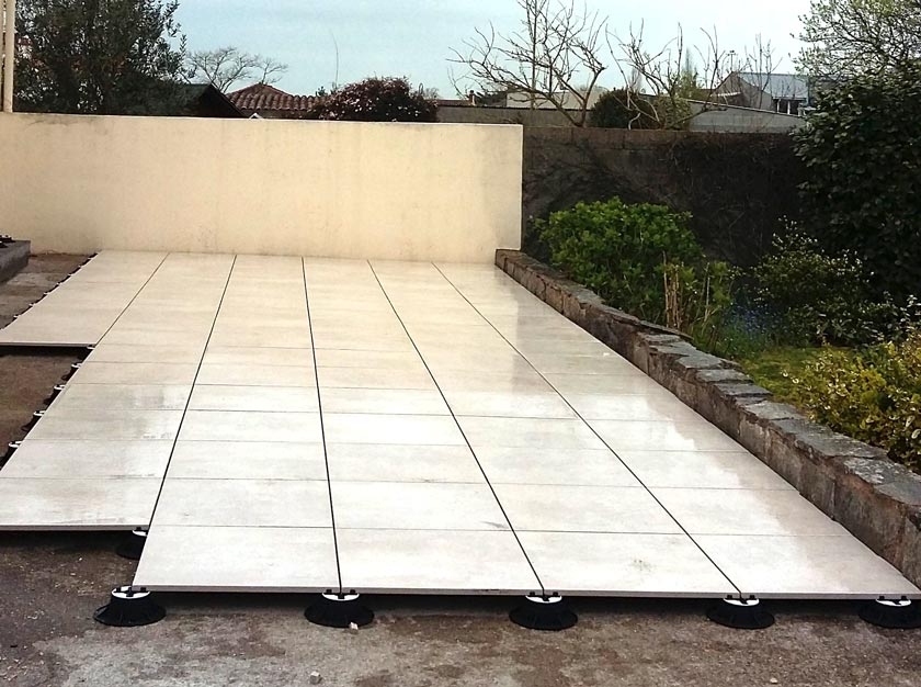 Carrelage gauthier platrerie carrelage for Pose carrelage sur plots